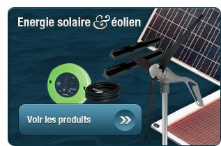 Energie solaire et éolien