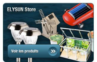 Panneaux solaires, éolien, jardin et bio