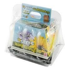 Mini serre 6 pots Eco systeme insectes