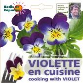 Graines de Violette comestible en sachet