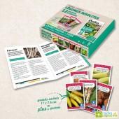 Des légumes insolites coffret 12 sachets + guide Rustica