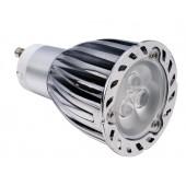Spot LED dimmable GU10  5W 220V blanc chaud