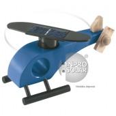 Hélicoptère solaire (rotor arrondi) bleu