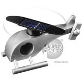 Hélicoptère solaire (rotor arrondi) argent