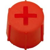 Bouchon rouge pour terminal (DIN Batteries de démarrage)