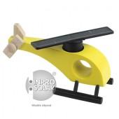 Hélicoptère solaire (rotor droit) jaune