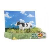 Jardin puzzle 3D vache