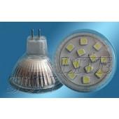 Spot LED MR16 2.2W 12V blanc