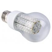 Ampoule LED E27 4.5W 220V blanc chaud