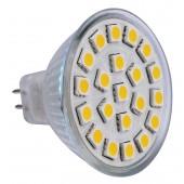 Spot LED MR16 2.2W 12V blanc chaud