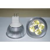 Spot LED MR16 4W 12V blanc chaud