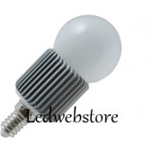 Ampoule LED Dimmable E14 Globe 7 led High Power SMD 240v Blanc Chaud