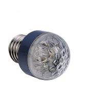 Ampoule LED E27 1W 220V blanc chaud