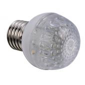 Ampoule LED E27 1,1W 220V blanc chaud