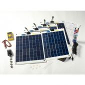 Kit solaire Flexible complet 100w