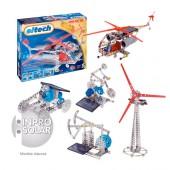 Boite C73 éolienne hélicoptère solaire 300 pièces