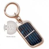 Porte-clés panneau solaire rectangulaire