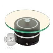 Présentoir rotatif solaire 1Kg - Socle rond