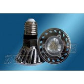 Spot LED dimmable E27 5W 220V 230LM blanc chaud