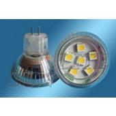 Spot LED MR11 1.2W 12V blanc chaud