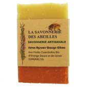 Savon aux agrumes orange citron
