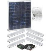 Solar Mate 5 - Kit d'éclairage solaire 43w (néons)