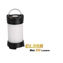 Fenix CL25R - lanterne led rechargeable + pile ARB-L2 - DARK BLACK