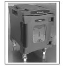 GB 24W conteneur passif de maintien au chaud et au froid avec roulette