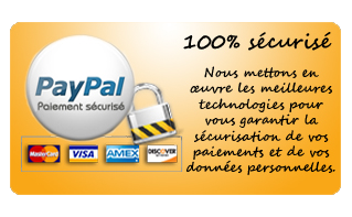 paiement 100% sécurisé