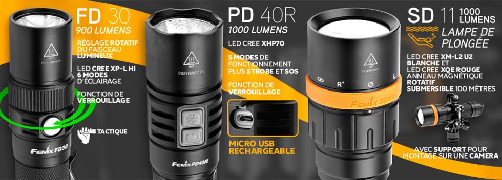Lampes Fenix®Site Main Fenix®Led À Officiel Torches 34A5LjR