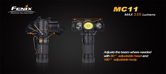 Fenix MC - Lumière d'angle multifonctionnelle