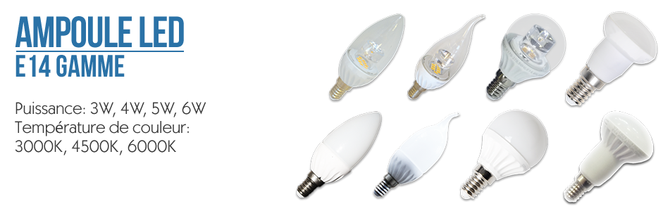 Ampoules LED - Bougie E14