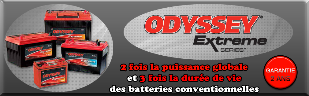 Odyssey (AGM) Batteries sèches