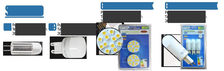 Spots LED - G4