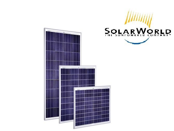 Module solaire SolarWorld SW 140 poly R6A