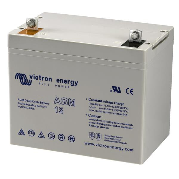Batterie AGM Deep Cycle - 12V 60Ah Victron Energy - BAT412550080