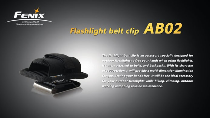 Clip ceinture rotatif