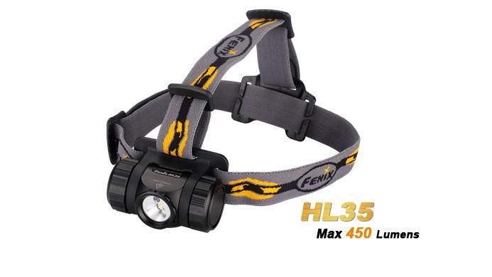 Fenix HL35 - LED Neutre Blanche - 450 Lumens