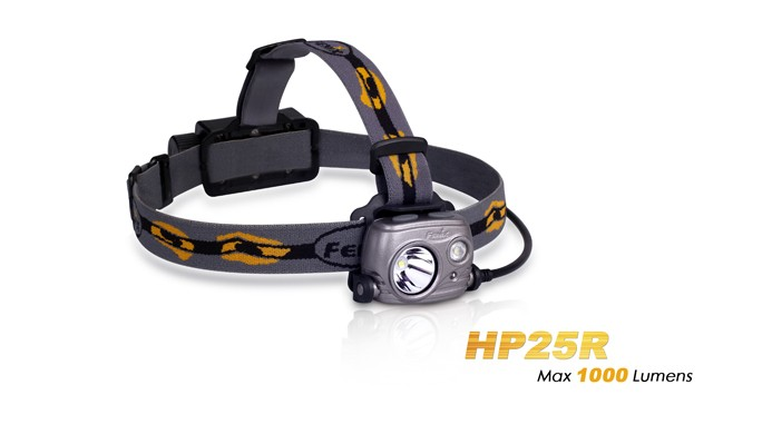 Fenix HP25R rechargeable - 1000 Lumens + batterie incluse