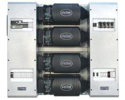 Système Outback FLEXware 1000 9 kVA 48 V triphasé