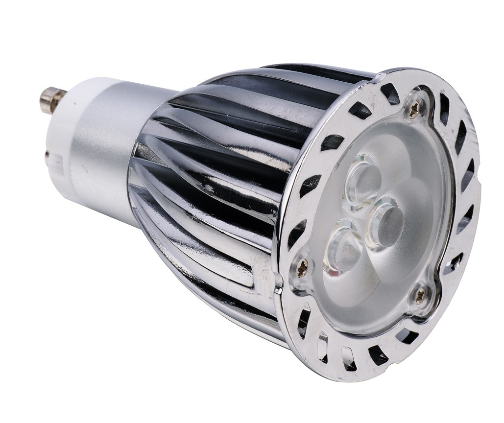 Spot LED dimmable GU10  5W 220V blanc
