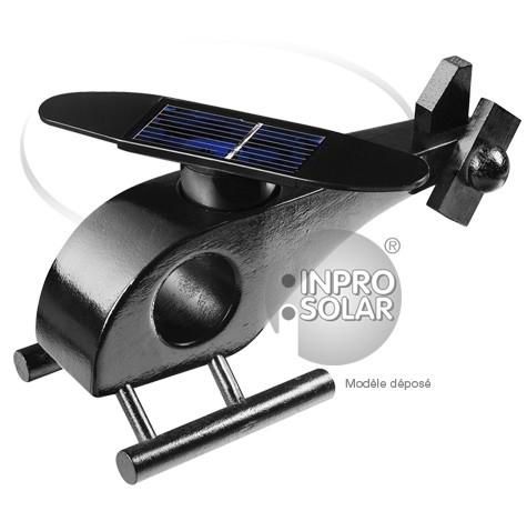 Hélicoptère solaire (rotor arrondi) noir