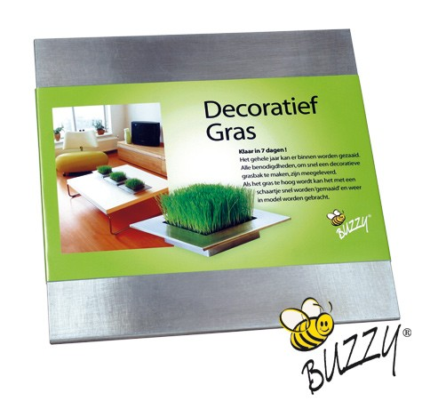 Kit de plantation buzzy carré herbe