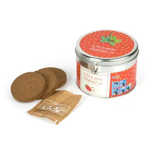Coffret cadeau pot de fraises