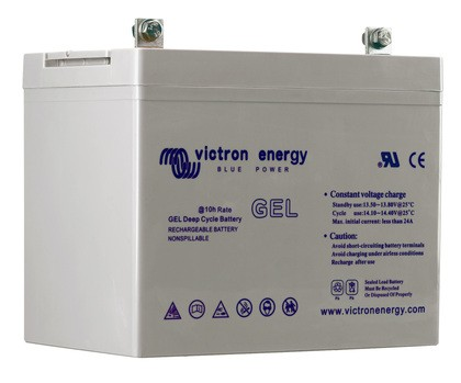 Batterie GEL Deep Cycle - 12V 66Ah Victron Energy - BAT412600100