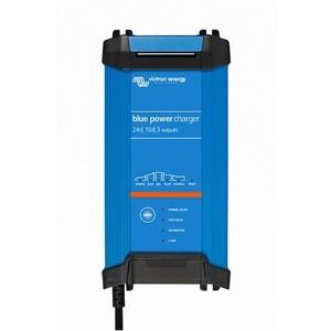 Chargeur de batterie au plomb et lithium-ion 24V 16A IP22 3 sorties Victron Blue Power