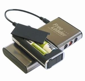 Chargeur de piles AA et AAA solaire ou USB