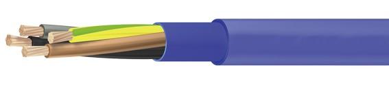 Câble pour pompe submersible 4G2,5mm² bleu