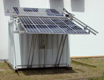 Conteneur solaire de stockage médical