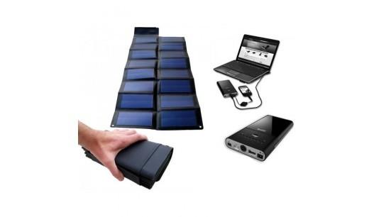 Chargeur solaire pour ordinateur portable - 25w